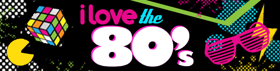 Image result for 80s banner
